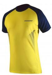 Футболка для бега Noname Pro Running 16 yellow-blue
