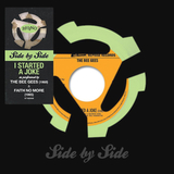 Bee Gees, Faith No More / Side By Side: I Started A Joke (Coloured Vinyl)(7' Vinyl Single)