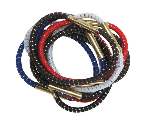 Резинки для волос цветные, mini, DEWAL, 10 шт.