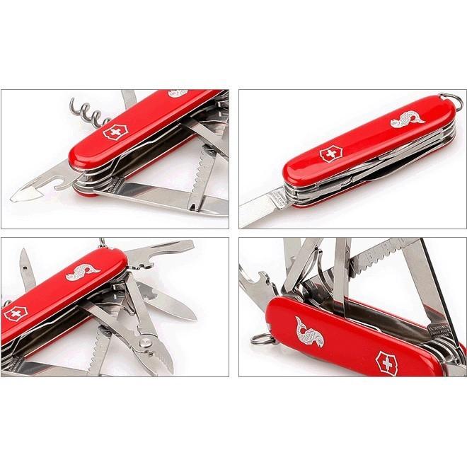 Складной нож Victorinox Angler (1.3653.72) 91 мм., 19 функций - Wenger-Victorinox.Ru