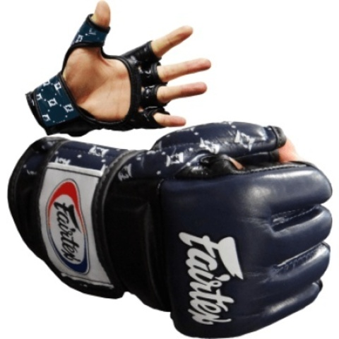 Перчатки MMA Fairtex Sparring Gloves FGV17 Blue