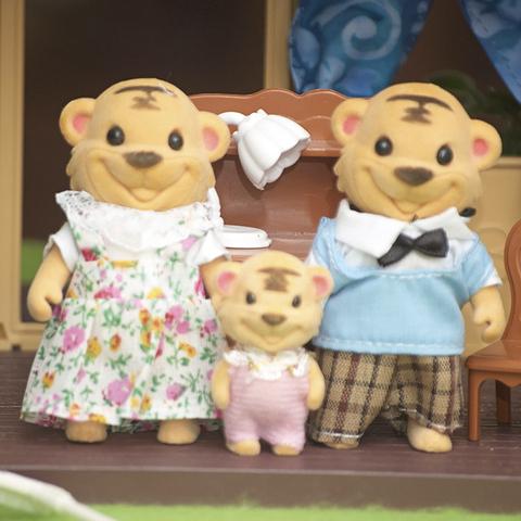 Семейка тигров с малышом Happy family 012-16D