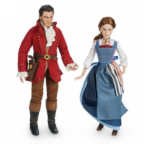 Набор из 2 Коллекционных Кукол Бэль и Гастон (Belle & Gaston) - Красавица и Чудовище, Disney