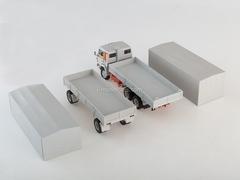 KAMAZ-53212 with trailer GKB-8350 white 1:43 Start Scale Models (SSM)