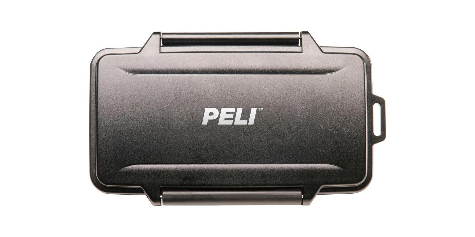 Кейс PELI для карт памяти вид сверху