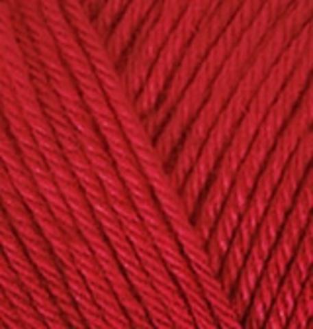 Пряжа Diva Plus Alize 56 Красный, фото