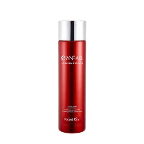 Эмульсия secretKey Synake Anti Wrinkle & Whitening Emulsion 150ml