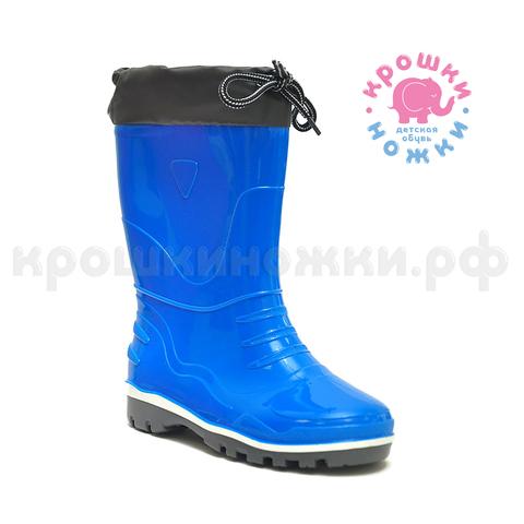 Сапоги, резиновые синие с утеплителем, Nordman Step