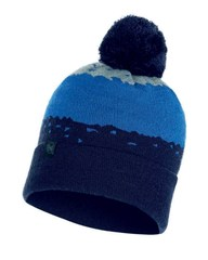Вязаная шапка Buff Hat Knitted Tove Night Blue
