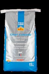EQUILIBRE chat Canard для взрослых кошек с мясом утки (Суперпремиум) 32/12 3 кг