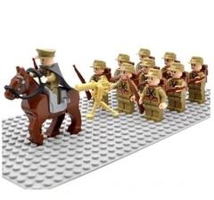 Минифигурки Военных Японская Армия серия 329