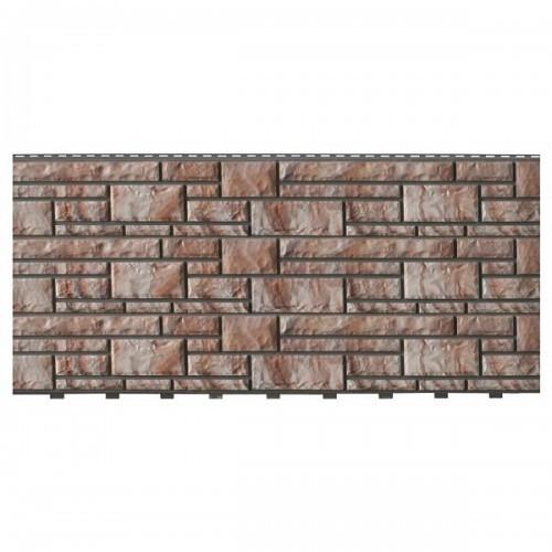 Фасадные панели (Цокольный Сайдинг) Доломит NEW Каппучино