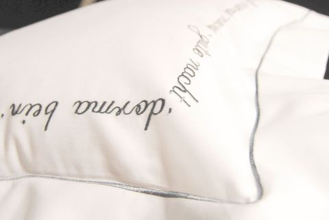 Пододеяльник 155х200 Christian Fischbacher Luxury Nights Sweet Dreams 557 серебро