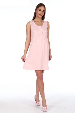 Мамаландия. Сорочка для беременных и кормящих с кнопками, розовый