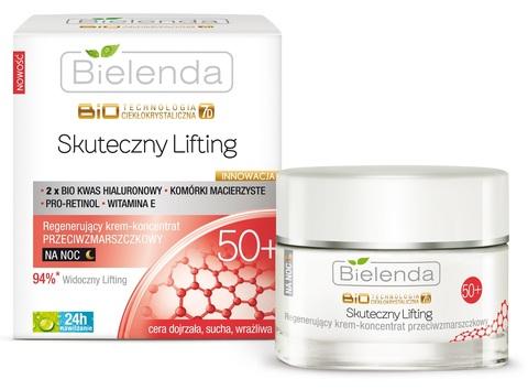Биотехнология 7Д Восстанавливающий ночной крем-концентрат против морщин 50+, 50 мл