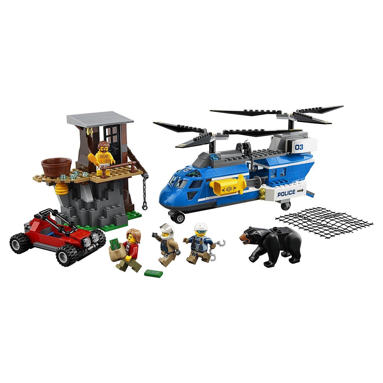 Конструктор LEGO Погоня в горах City Police (60173)