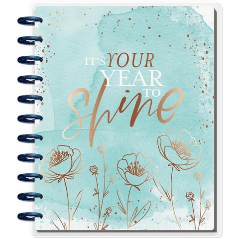 Ежедневник 2020 BIG Happy Planner® - Year to Shine  - Датирован  на 2020г. -  23х28.5см