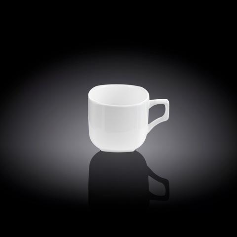 Набор кофейная чашка и блюдце Wilmax 90 мл (WL-993041)