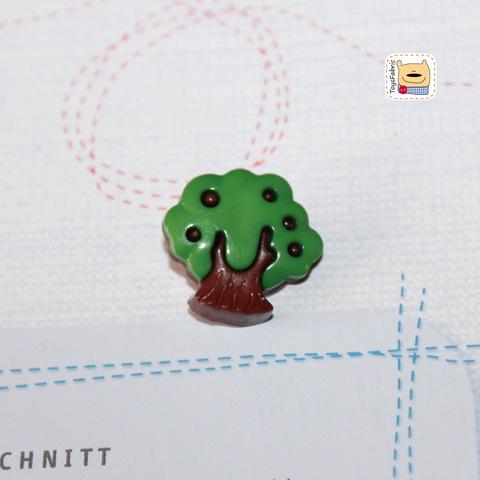 Пуговица BP11 (темно-зеленое дерево)