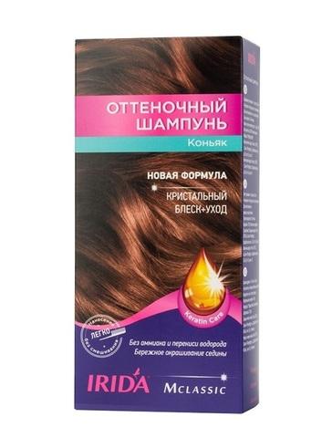 Irida Irida М classic Оттеночный шампунь для окраски волос Коньяк 3*25мл