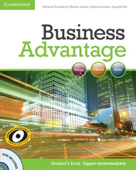 Business Advantage Upp-Int SB +DVD
