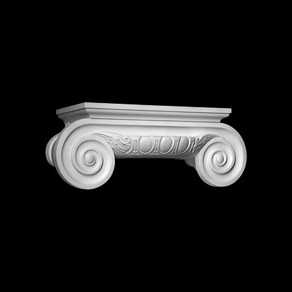 Капитель (полуколонна) Европласт из полиуретана 4.15.201, интернет магазин Волео