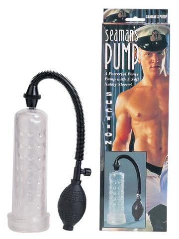 Мужская вакуумная помпа для увеличения члена (5 х 18,5 см)