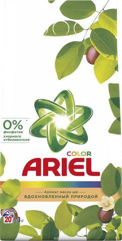 Стиральный порошок Ariel автомат для цветного 3 кг