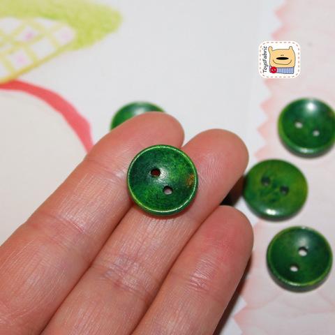 Пуговица BW5-E (зеленая)