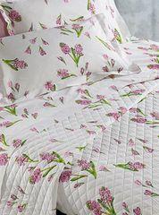 Постельное белье 2 спальное евро макси Mirabello Primi Fiori фиолетовое