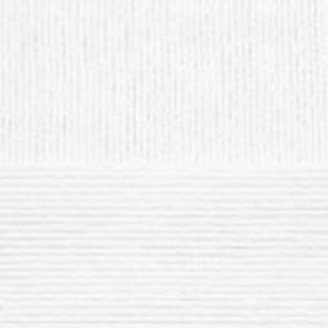 Пряжа Конопляная (Пехорка) Белый 01