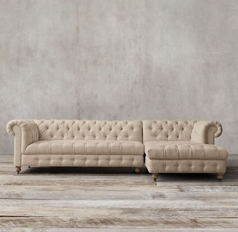 Cambridge Right-Arm Sofa Chaise Sectional