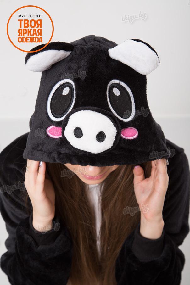 Пижамы кигуруми Черный Поросенок poros_black3.jpg