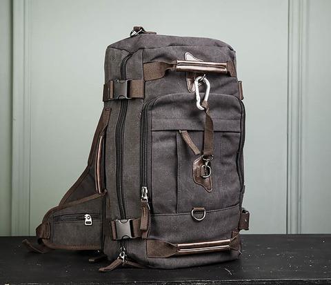 Большой рюкзак трансформер из текстиля