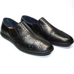 Мужская обувь в стиле casual Luciano Bellini 107607 Black.