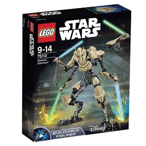 LEGO Star Wars: Генерал Гривус 75112 — General Grievous — Лего Стар ворз Звёздные войны