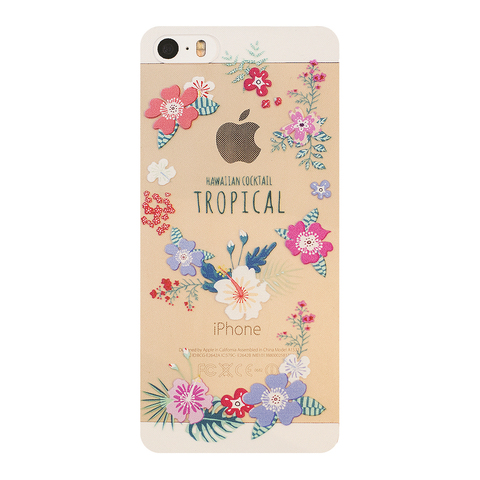 Чехол на Iphone 5/5s Tropical