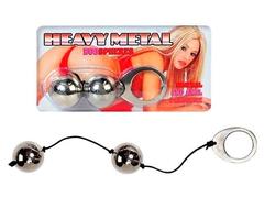 Тяжелые вагинальные шарики металлические (3 см.; Вес 259 гр.)