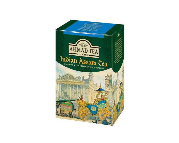 Чай черный длиннолистовой Ahmad Tea Ассам, 100 г (Ахмад)