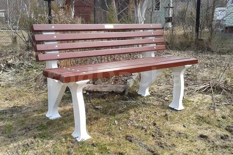 Скамейка садовая из композита SMC