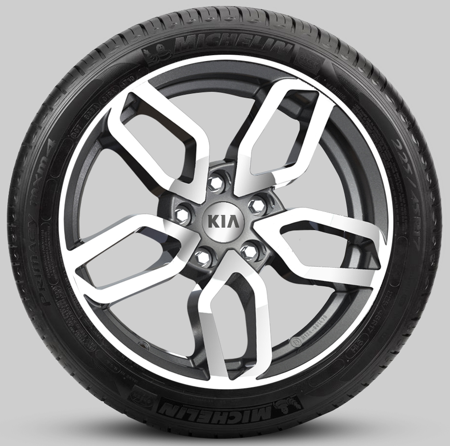 Диск колесный R17 в шине Michelin XL Primacy 4 KIA J7400ADE07BCTMS для KIA Ceed 2018 - 2019 mip390 dip 7