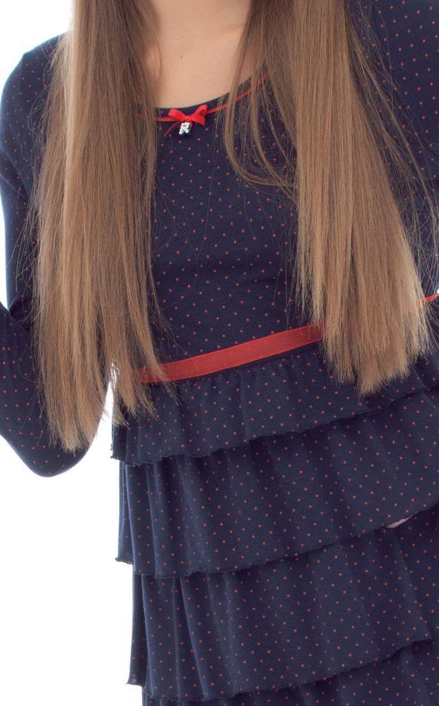 Домашнее платье в горошек Rebecca & Bros