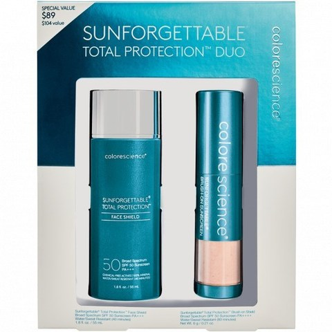 Colorescience Солнцезащитный набор Sunforgettable® Total Protection™ Duo