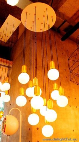 replica PARACHILNA Aballs chandelier 12 -1