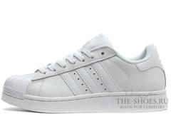 Кроссовки Женские Adidas SuperStar White