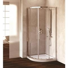 Душевой уголок с раздвижными дверьми 90х90х195 см Ideal Standard Kubo T7148EO фото