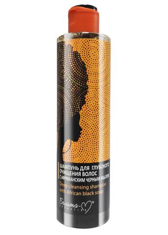 Белита-М African black soap Шампунь для глубокого очищения волос с африканским черным мылом 250г
