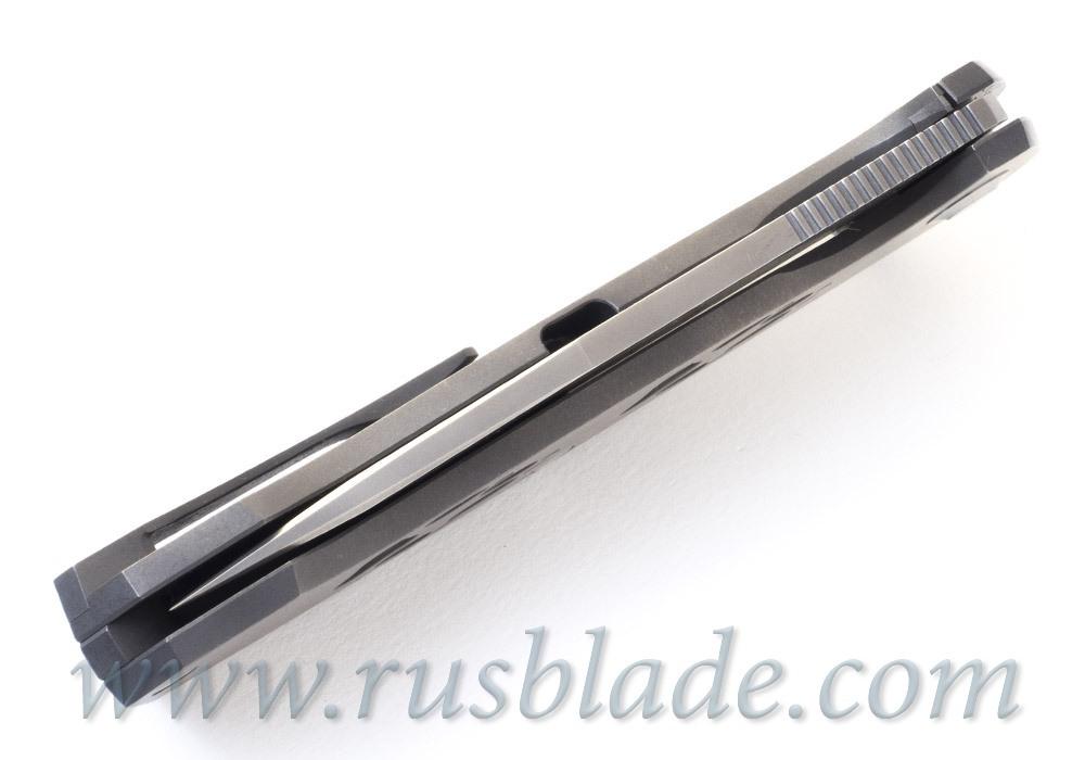 Cheburkov Wolf M390 Titanium Folding Knife