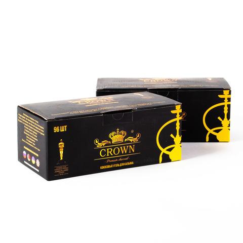 Уголь Crown 96шт