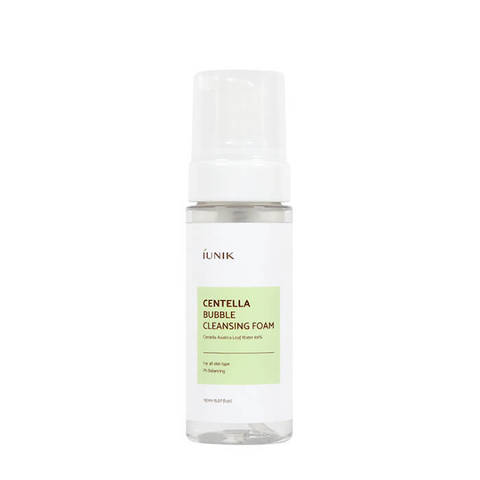 Пенка Для Умывания С Экстрактом Центеллы IUNIK Centella Bubble Cleansing Foam